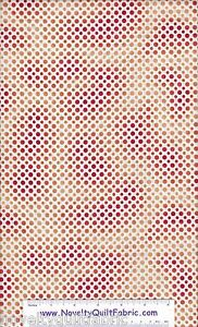 Ombre-Dots-Dot-Polka-Orange-Yellow-Cotton-Novelty-Quilt-Fabric-BTY