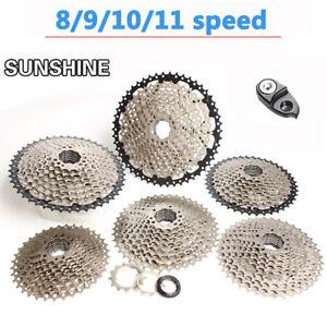 SUNSHINE-8-9-10-11-Velocidad-Bicicleta-De-Montana-Bici-Cassette-10S-volante-COGS-Fit-Shimano-SRAM