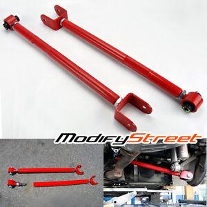 Bmw E36 E46 E83 E85 E86 E89 Red Adjustable Rear Lower