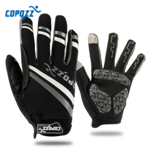 Copozz Brand New Gel bike glove Full Finger touch screen cycling gloves