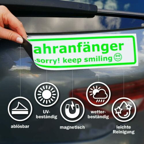 Invertiert Magnetschild Schild magnetisch Zu verkaufen