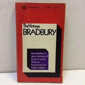 The-Vintage-Bradbury-by-Ray-Bradbury-1965-Paperback-PB-Vintage-Book-GUC