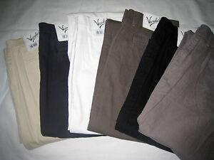 Vanilia-Hose-034-Tailored-Chino-Cotton-Stretch-034-Bw-Elast-versch-Groessen-amp-Farben