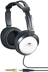 JVC-Full-Size-Stereo-Headphones-Earphones-Overhead-Over-ear-For-Music-Mp3-HARX50