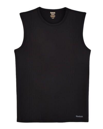 Nero Muscolo shirt Etichetta Intimo Nuova Performance Con Mens T L Reebok 4xqpvX8w