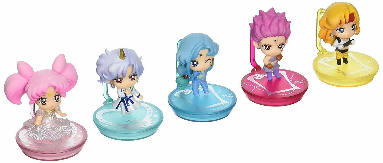 Megahouse Sailor Moon Super S Petit Chara Figuras Set Limited Edition