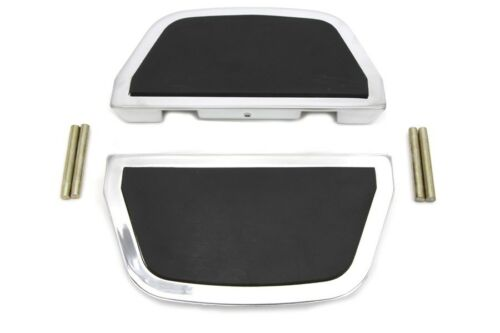 flip up when not in use Chrome passenger footboard set fits FLT 1997-UP