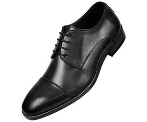Asher-Green-Mens-Black-Genuine-Leather-Cap-Toe-Lace-Up-Oxford-AG3887-000