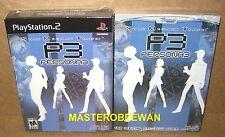 PS2 Shin Megami Persona 3 FES Collectors Edition Amazon Exclusive New + Guide