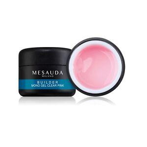 Builder-Mono-Gel-Clear-Pink-7g-Gel-UV-Ricostruzione-Trasparente-Rosa-Mesauda