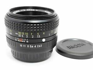 Ricoh-XR-Rikenon-50mm-F2-L-MF-Standard-Prime-Lens-Excellent-from-Japan-F-S