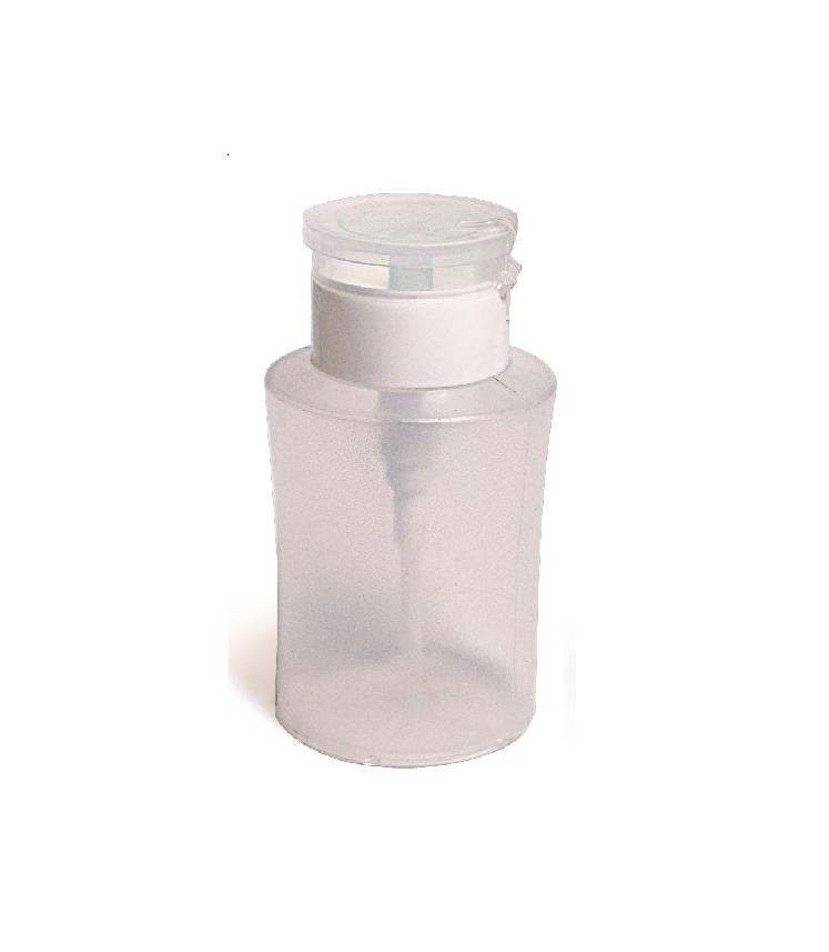 Empty Clear Pump Dispenser Bottle Acetone Polish Remover Alcohol Beauty Nail  sc 1 st  eBay & Empty Clear Pump Dispenser Bottle for Acetone Polish Remover Alcohol ...