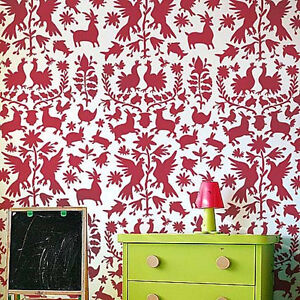 Details about Otomi Allover Stencil Pattern - Sturdy Reusable Wall Stencils  for Easy DIY Decor