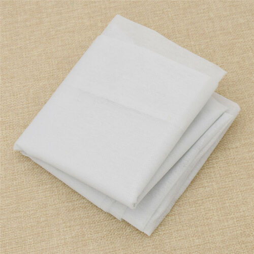 DIY Fusible Iron On Interlining Fabric Sewing Crafts 100cm White for Suit Making