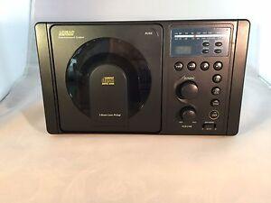Ls4000b Rv Cd Player Am Fm Radio Stereo Black Panel Mount