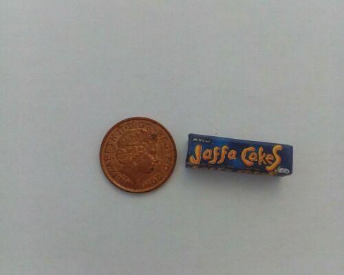 Paquet de Jaffa Cakes biscuits pour dollshouse miniatures Échelle 1//12