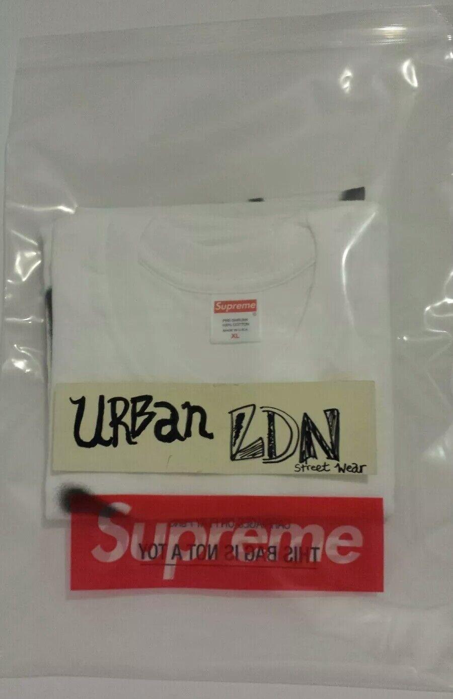 Supreme Smile Tee T-Shirt XL WHITE Brand-New