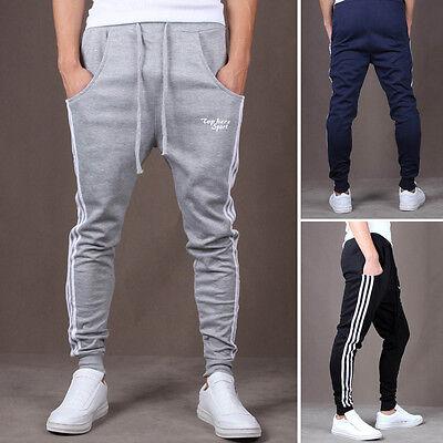 New Mens Casual Jogger Dance Sportwear Harem Pants Slacks Trousers Sweatpants