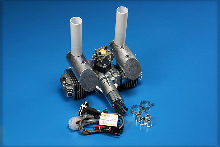 DLE120 120CC Gasoline Engine Model Airplane Gas Engine 12HP/7500rpm