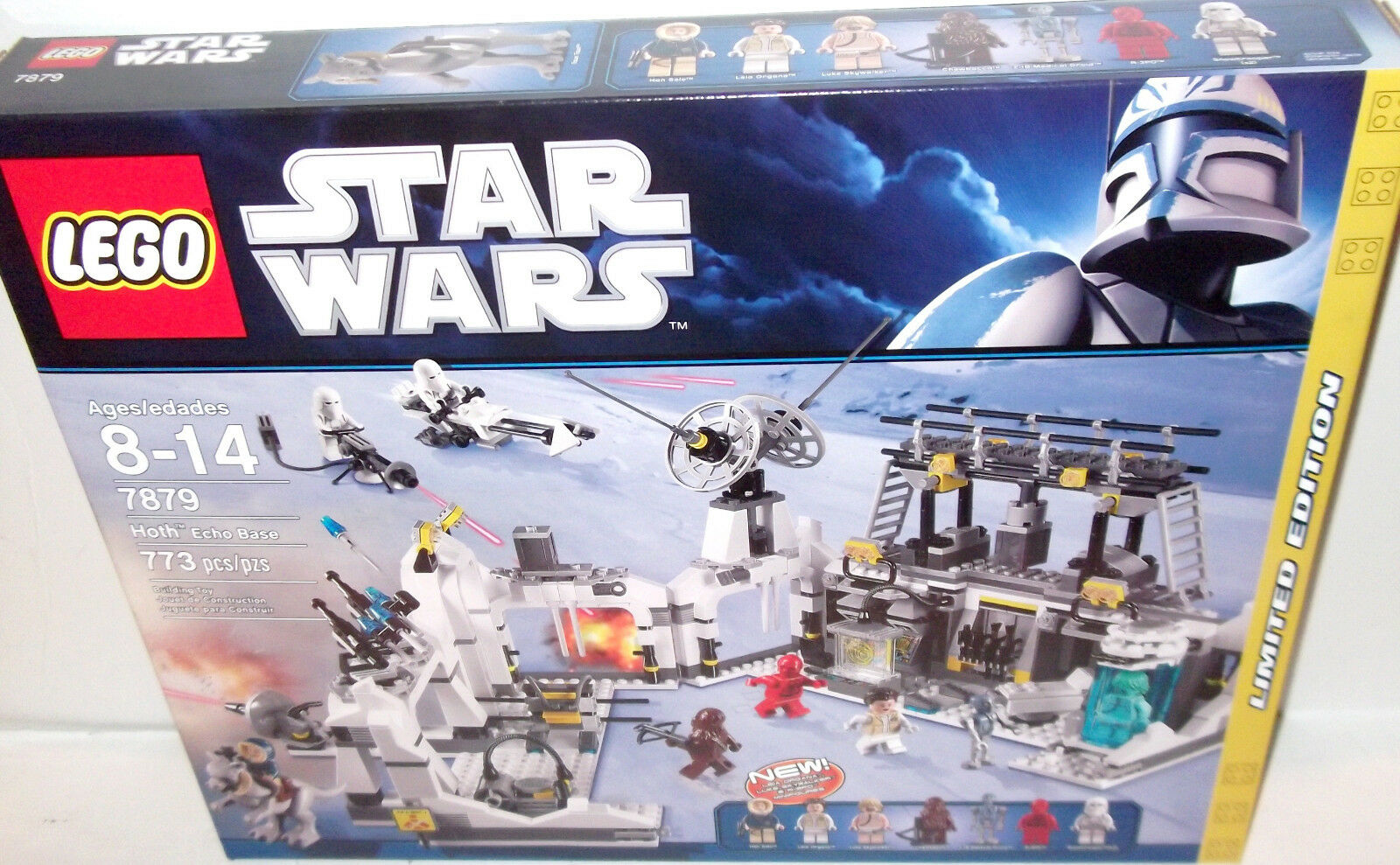 LEGO STAR WARS ✰ HOTH ECHO BASE ✰  7879 ✰ NEW Factory Sealed SHARP