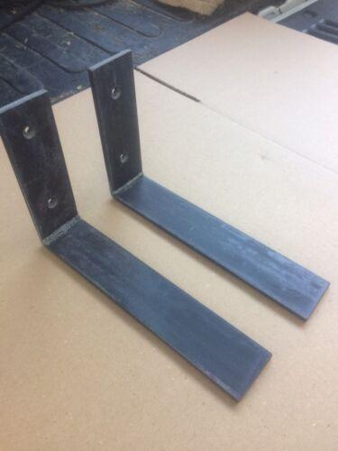 """6/""""x12/"""" Heavy Duty Steel Countertop Support L Bracket 1"""