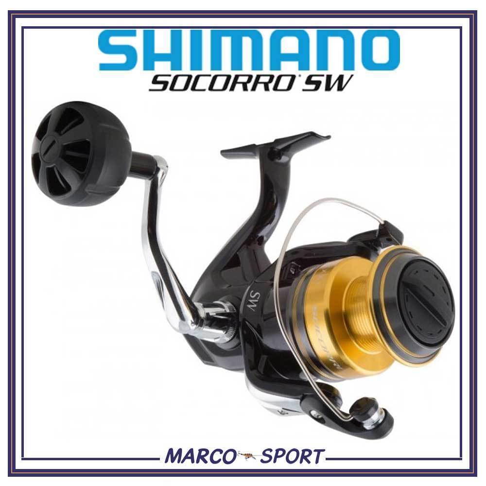 Mulinello da pesca spinning in mare Shimano SW Socorro 5000 6000 8000 bolentino