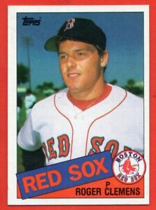 1985-Topps-181-Roger-Clemens-ROOKIE-RC-NEAR-MINT-MINT-Boston-Red-Sox-FREE-S-H