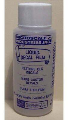 MICROSCALE LIQUID DECAL FILM MI-12