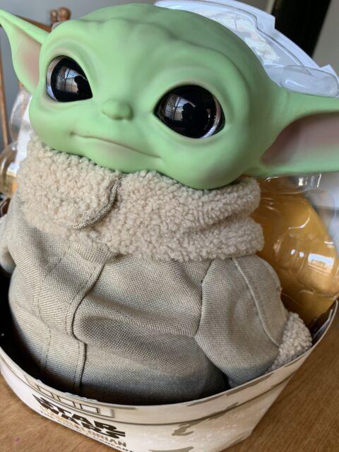 Star Wars The Mandalorian Yoda The Child 11 inch Plush Toy - GWD85 Brand New