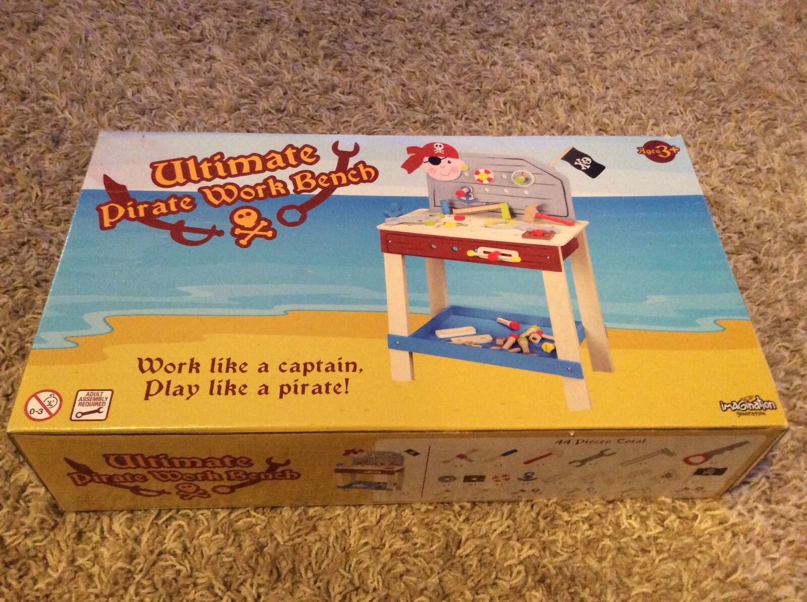Pirate Work Bench Imagination Generation Wooden Wonders Ultimate