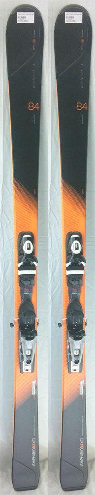 2016-17 Elan Amphibio 84 Xti 176 cm Skis with Axium 120 Bindings - NEW