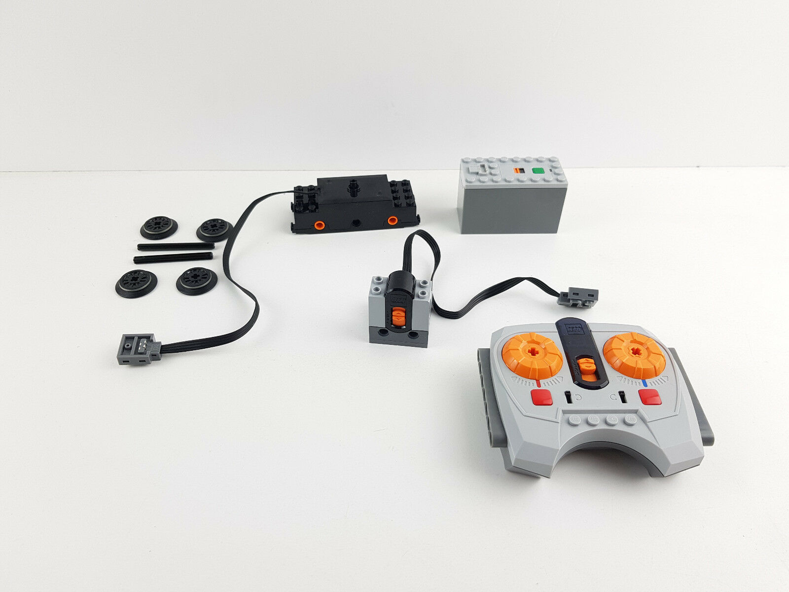 Lego® City Power Functions Set Eisenbahn RC Motor 88002 88000 8884 8879