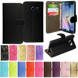 Case-Cover-for-Samsung-S8-S9-Plus-S7-Edge-S6-Magnetic-Leather-Flip-Wallet-Phone