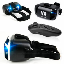 Virtual Reality 3D Brille VR für Galaxy A3 A5 A7 S4 S5 S6 S7 Note Fernbedienung