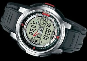Casio-OCEAN-COLLECTION-THERMOMETER-MOON-amp-TIDE-PHASE-WATCH-MONTRE-OROLOGIO-RELOJ