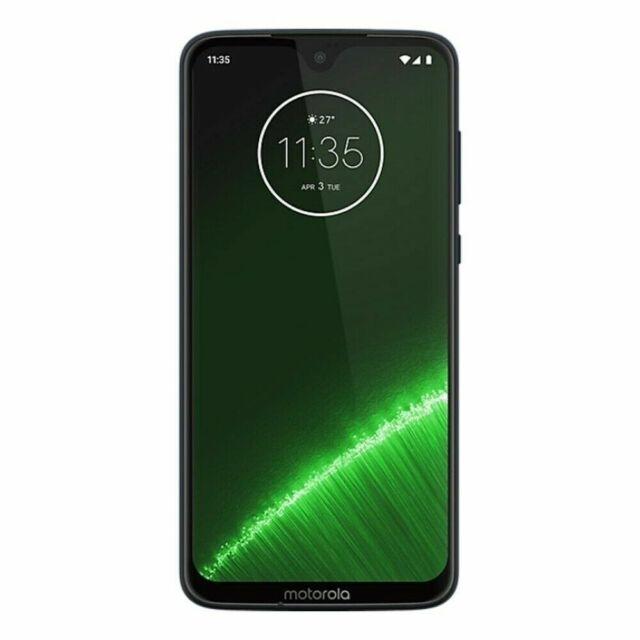 Motorola Padu0000au Moto G7 Plus 64gb Smartphone Deep Indigo