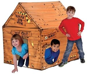 Pacific Play Tents Kids Club House Tent Playhouse For Indoor, Outdoor Fun 60801