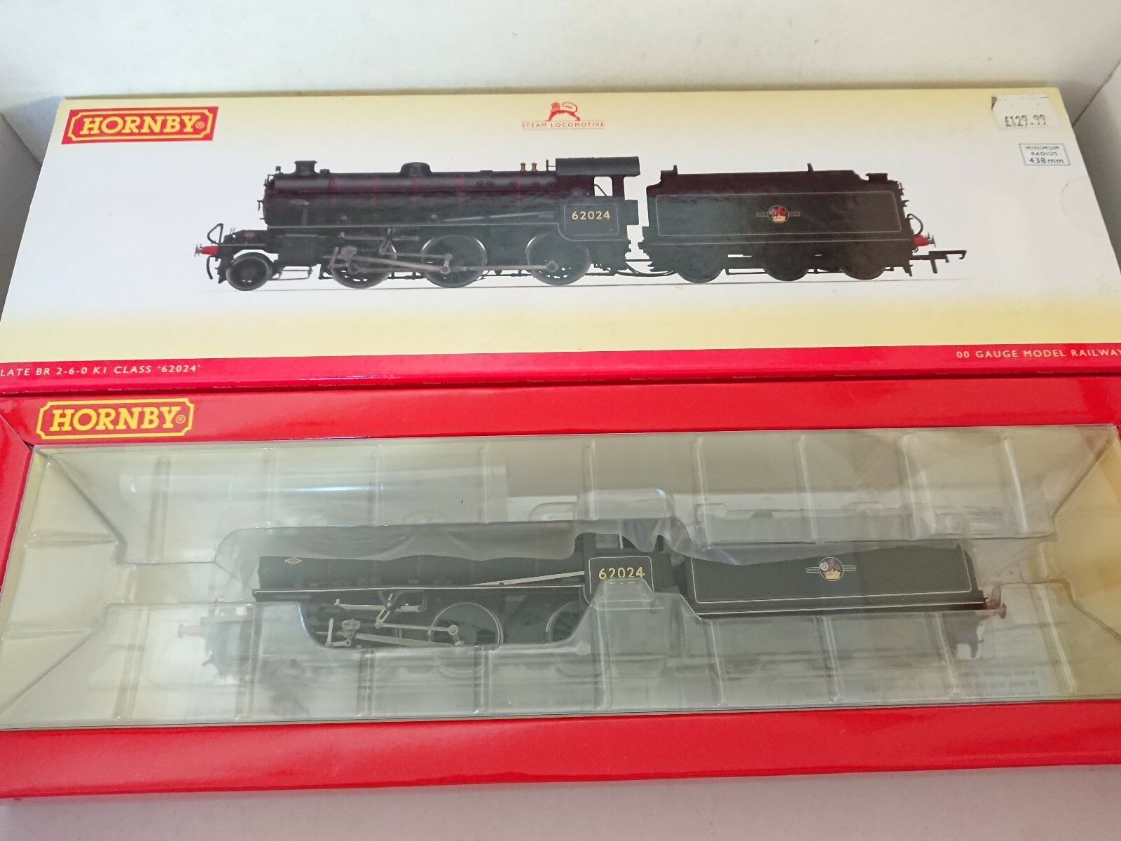 Hornby R3243 BR (Late) 2-6-0 Class K1 Locomotive No.  62024  DCC Ready NEW