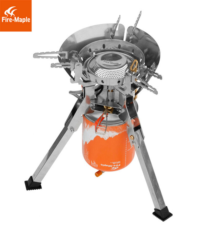 Fire Maple Enhanced Super Power Portable Camping Outside One Piece  Gas Stove  low 40% price