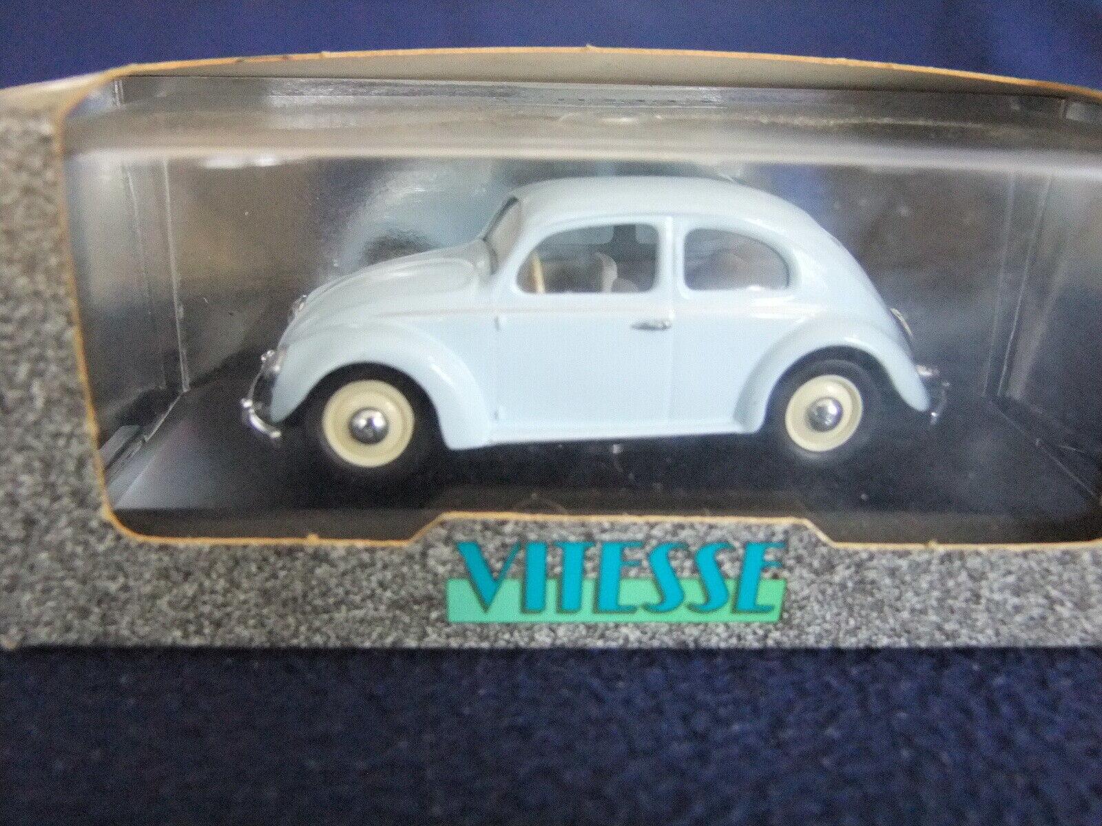 1949 Volkswagen Beetle Saloon Vitesse 1 43 Scale - Pale Blau BOXED