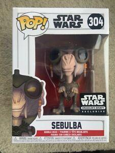 SEBULBA-Smuggler-039-s-Bounty-STAR-WARS-Funko-Pop-Vinyl-New-in-Box-Protector