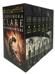 Cassandra-Clare-Mortal-Instruments-7-Books-City-of-Ashes-City-of-Bones-amp-Glass