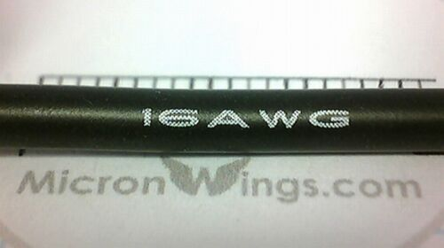 16AWG Silicone Wire Cable for RC LIPO By The Metre