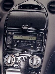 Toyota Celica 2000 01 02 2003 2004 2005 Interior Carbon Fiber Dash Trim Set Kit Ebay