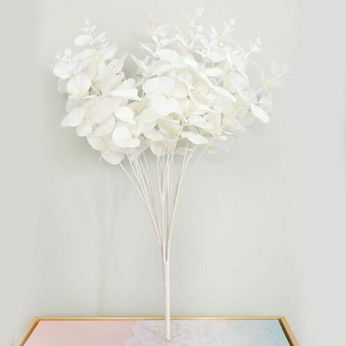 Party Suppliues Artificial Flower Home Decor Fake Plants Eucalyptus Flower US