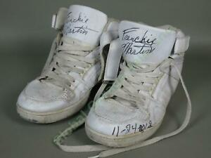 RARE-Signed-Autographed-WWF-WWE-Wrestling-Frenchy-Frenchie-Martin-Shoes-Air