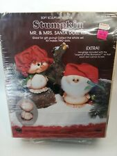 Mrs Claus Doll Plastic 13 inches Christmas Gift Doll Making   B82