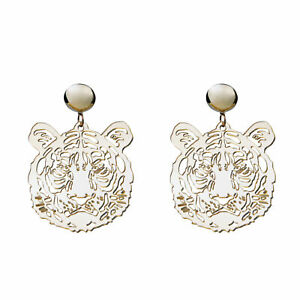 Fashion-Women-Drop-Dangle-Stud-Earring-Acrylic-Resin-Tiger-Earrings-Jewelry-Gift
