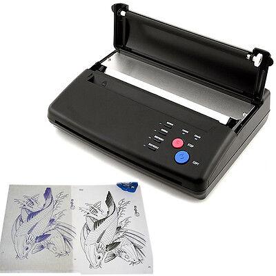 A4 thermischen Kopierer Drucker Tattoo Thermotransfer Schablone Maschine DE int