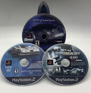 Spy-Hunter-Series-PS2-3-Discs-Loose-Lot-Tested-Sony-PlayStation-2-Racing-Games
